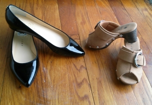Competition:  Whose shoes were a better deal?